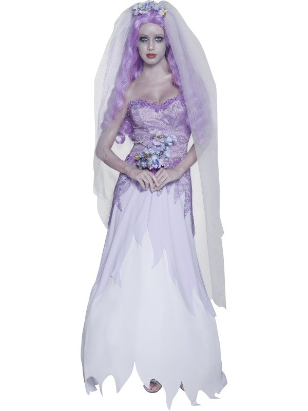 Ghost Bride Fancy Dress Costume