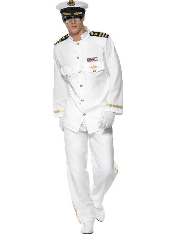 Deluxe Captain Fancy Dress Costume