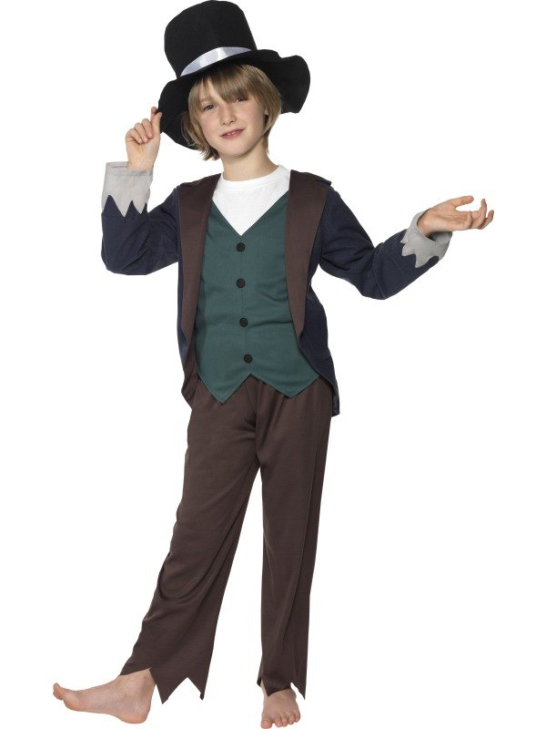 Victorian Poor Boy Fancy Dress Costume