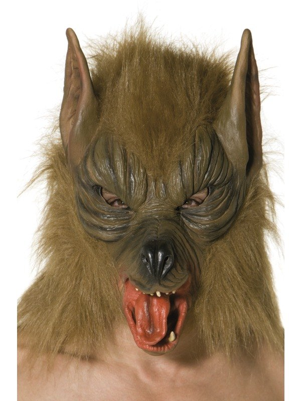 Overhead Wolf Fancy Dress Mask