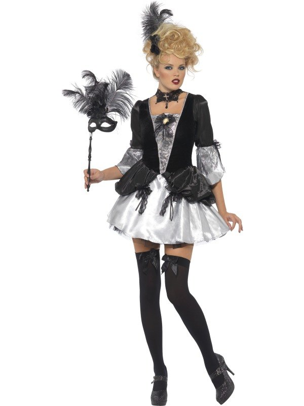 Fever Baroque Fancy Dress Costume