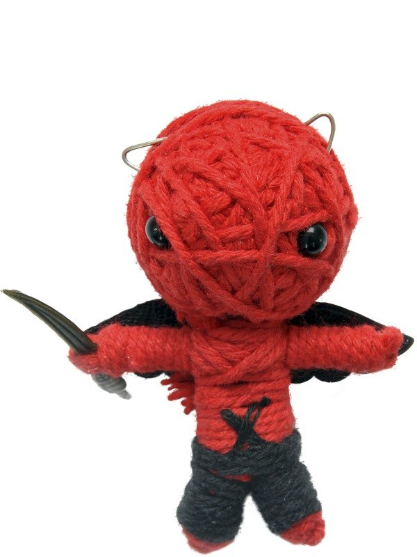 Voodoo string doll, The Devil