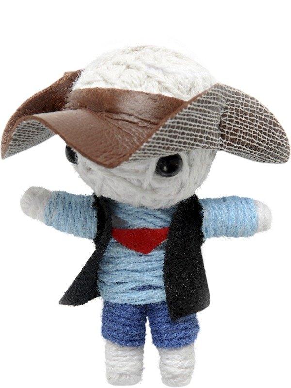 Voodoo String Doll Charm, Cowboy
