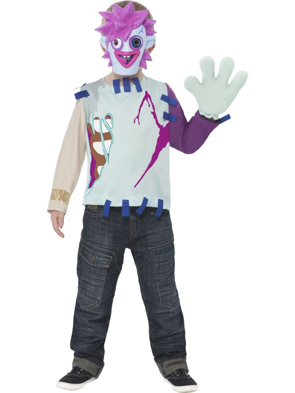 Moshi Monsters Zommer Fancy Dress Costume