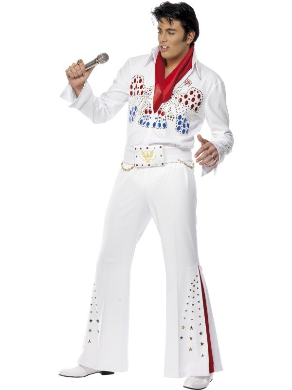 Elvis American Eagle Fancy Dress Costume
