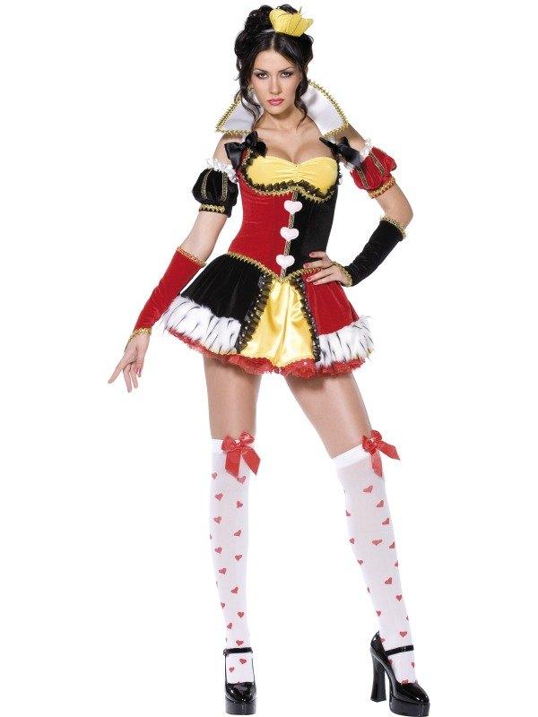 Queen of Hearts Fancy Dress Costume