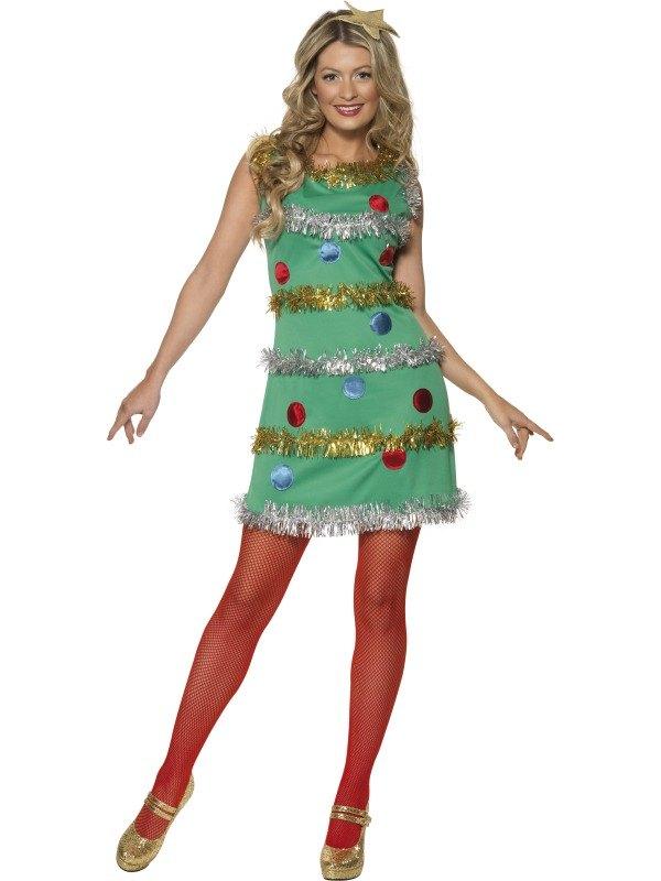 Christmas Tree Fancy Dress Costume