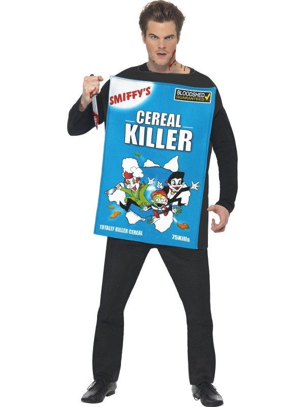 Cereal Killer Fancy Dress Costume