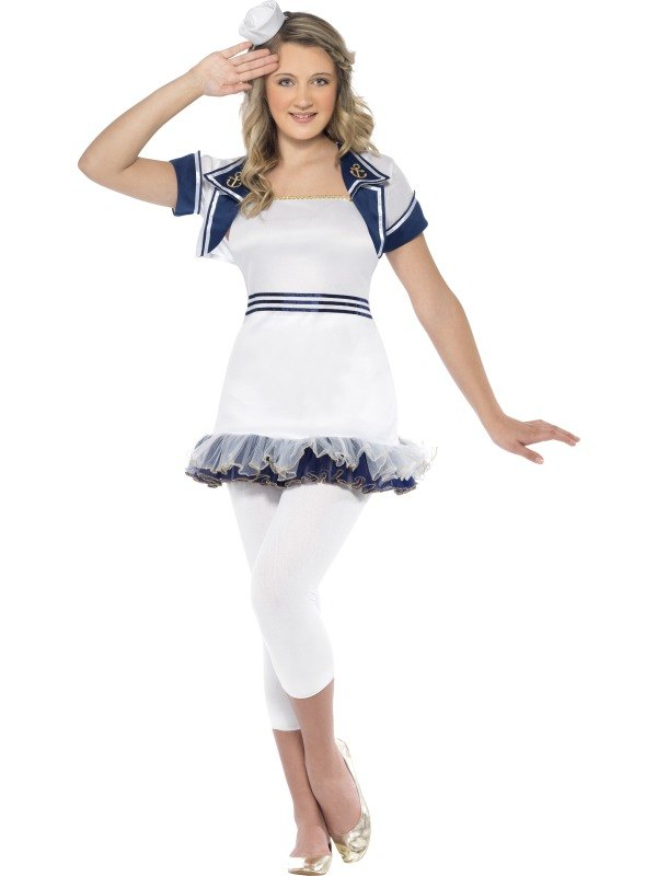 Miss Sailor Fancy Dress Costume