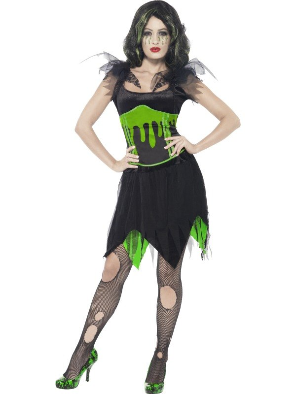 Monster Bride Fancy Dress Costume