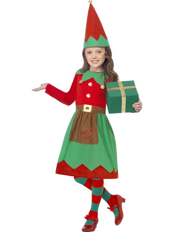 Santas Little Helper Fancy Dress Costume