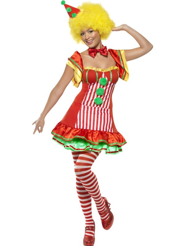 Boo Boo The Clown Fancy Dress Costume