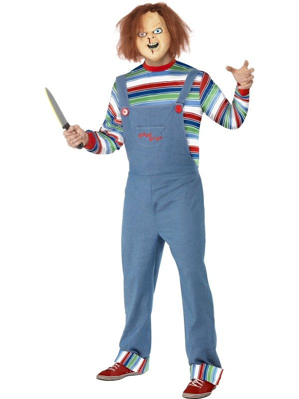 Male Chucky Fancy Dress Costume