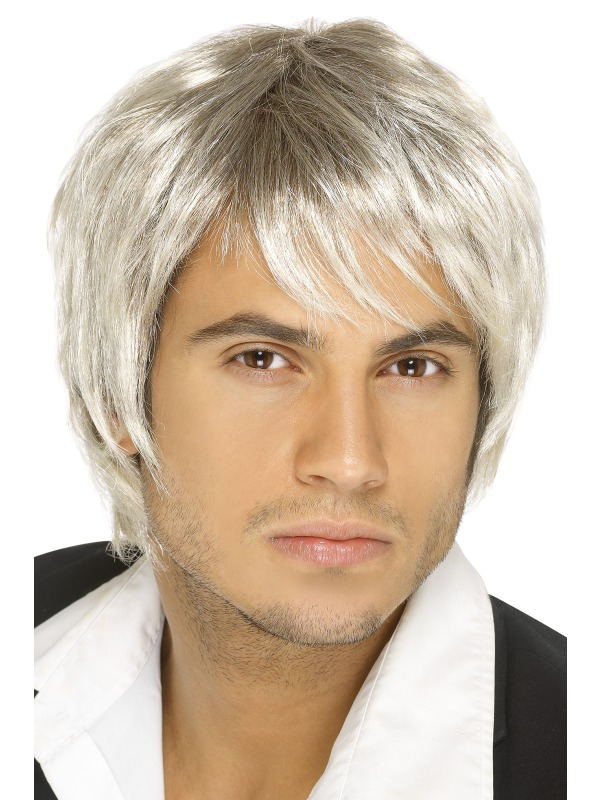 Boy Band Wig Light Blonde
