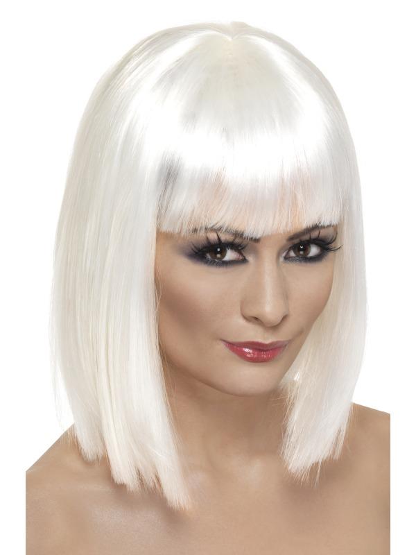 Glam Wig White