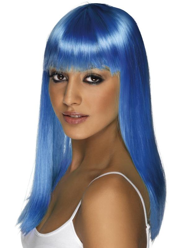 Glamourama Wig Blue