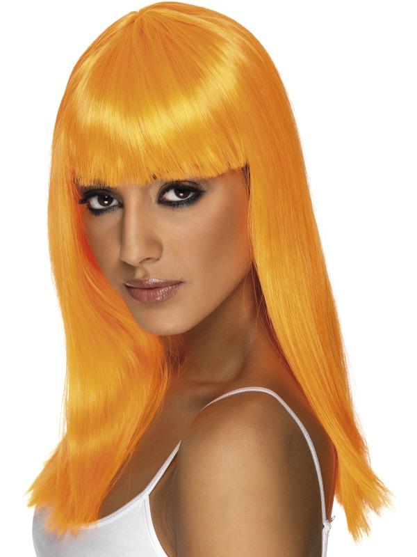 Glamourama Wig Orange