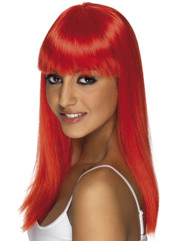 Glamourama Wig Red