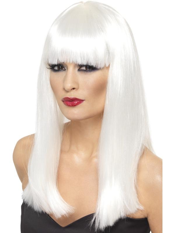 Glamourama Wig White