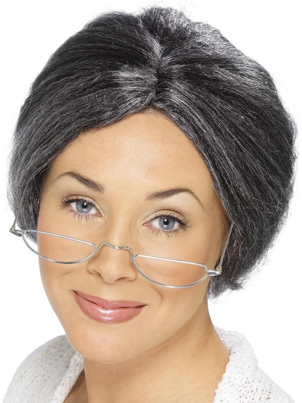 Granny Bun Wig