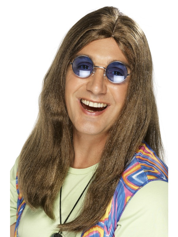 Neil Hippy Wig Brown
