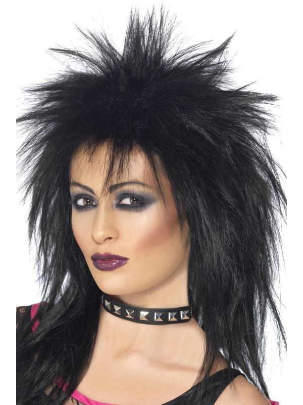 Rock Diva Wig Black