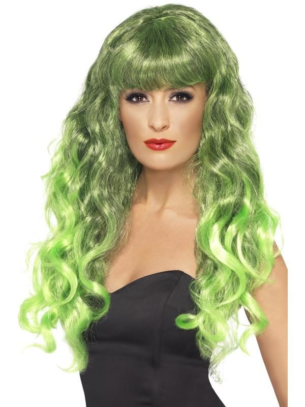 Siren Wig Green