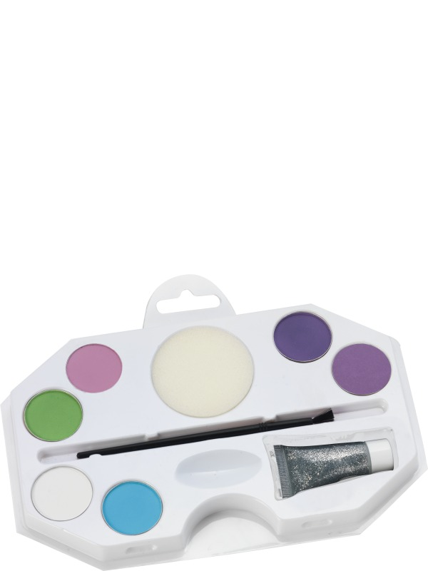 Make Up FX, Aqua Face and Body Paint, Princess Kit
