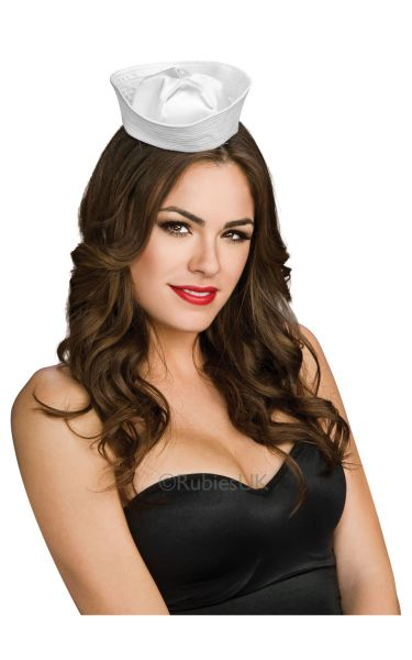 Satin Mini Sailor Fancy Dress Hat