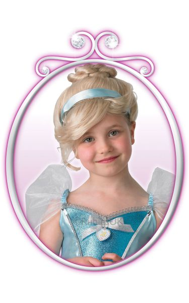 Childs Cinderella Wig