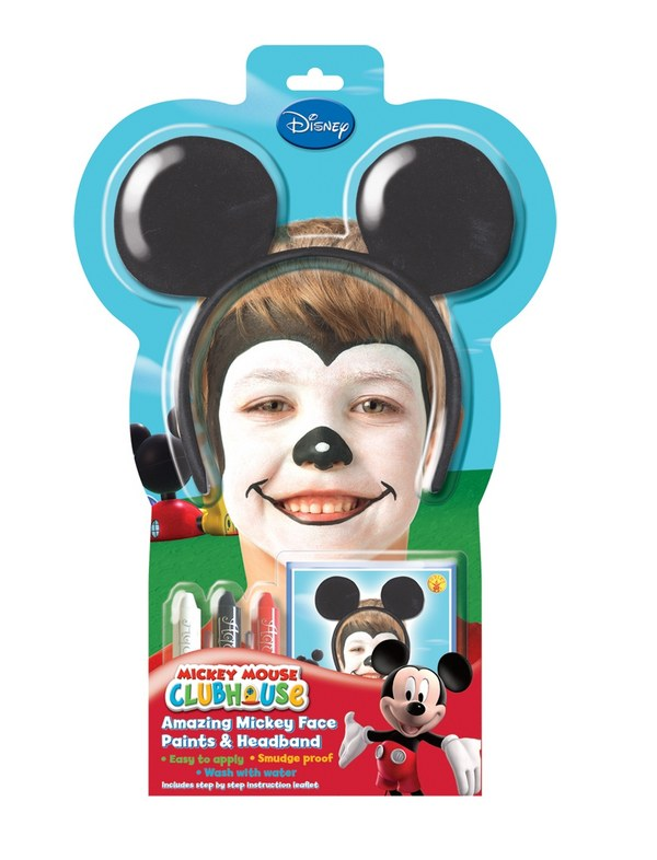 Disney Mickey Mouse Face Paint Kit