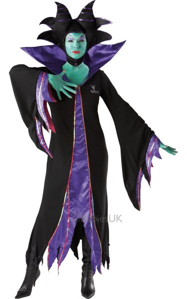 Maleficent Fancy Dress Costume