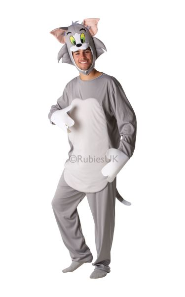 Adult Tom Cat Fancy Dress Costume