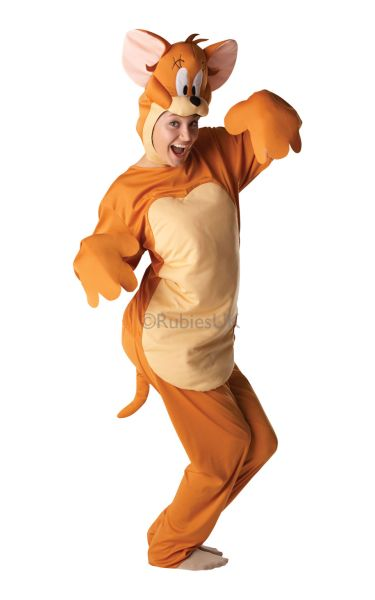 Adult Unisex Jerry Mouse Fancy Dress Costume