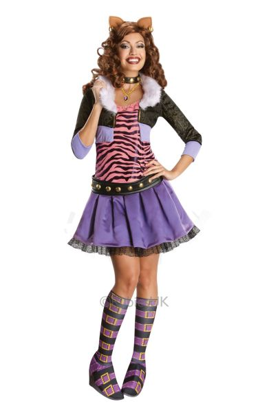 Deluxe Clawdeen Wolf Costume