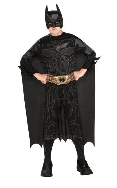 Kids Dark Knight Fancy Dress Costume