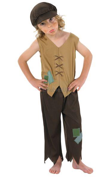 Victorian Urchin Costume Oliver Twist
