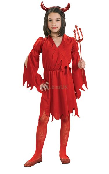 Devil Girl Fancy Dress Costume