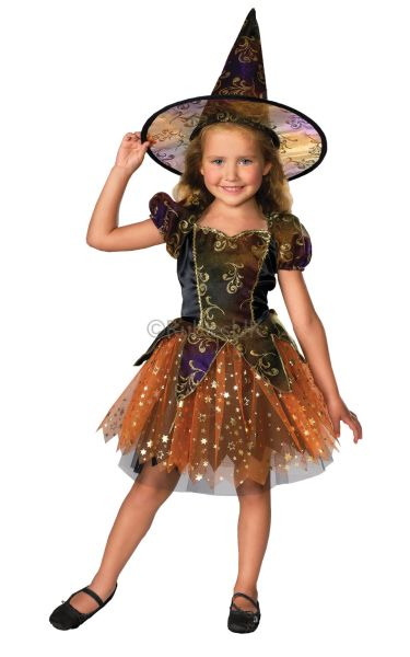 Elegant Witch Fancy Dress Costume