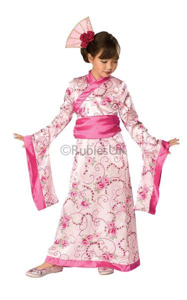 Girls Asian Princess Fancy Dress Costume