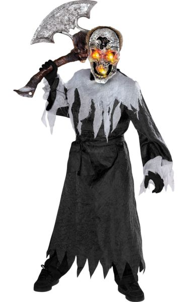 Kids Skull Fancy Dress Costume