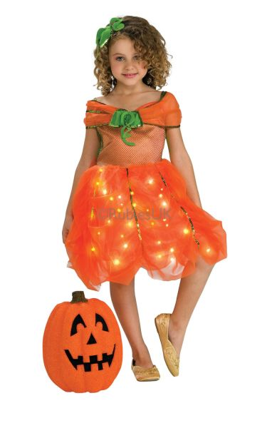 Twinkle Pumpkin Princess Fancy Dress Costume