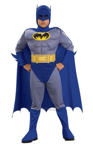 Childs Batman Fancy Dress Costume