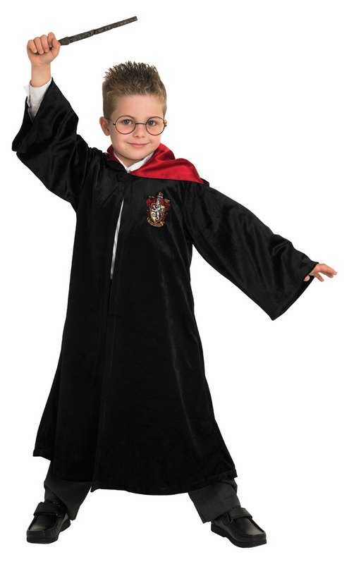 Harry Potter School Robe Fancy Dress Costume