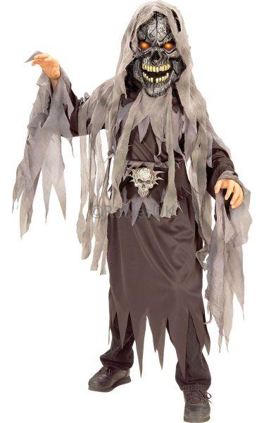 Evil Eye Skull Fancy Dress Costume