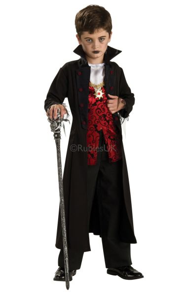 Royal Vampire Fancy Dress Costume