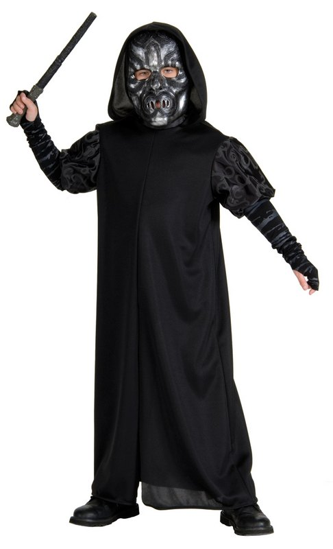 Kids Death Eater Fancy Dress Costume