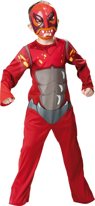Kids Magmion Gormiti Fancy Dress Costume