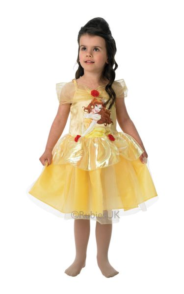 Belle Ballerina Fancy Dress Costume