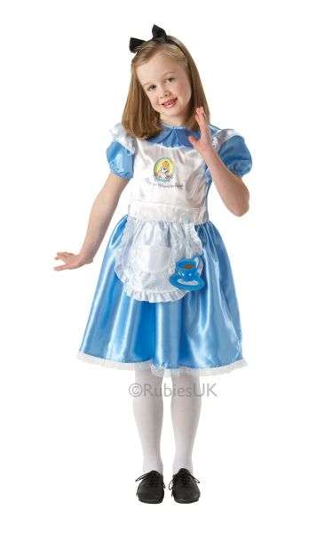 Alice in Wonderland Fancy Dress Costume